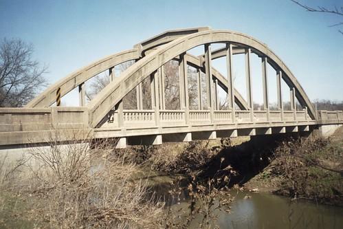 lost bridges kansas scannedphotos lightningcreek us160