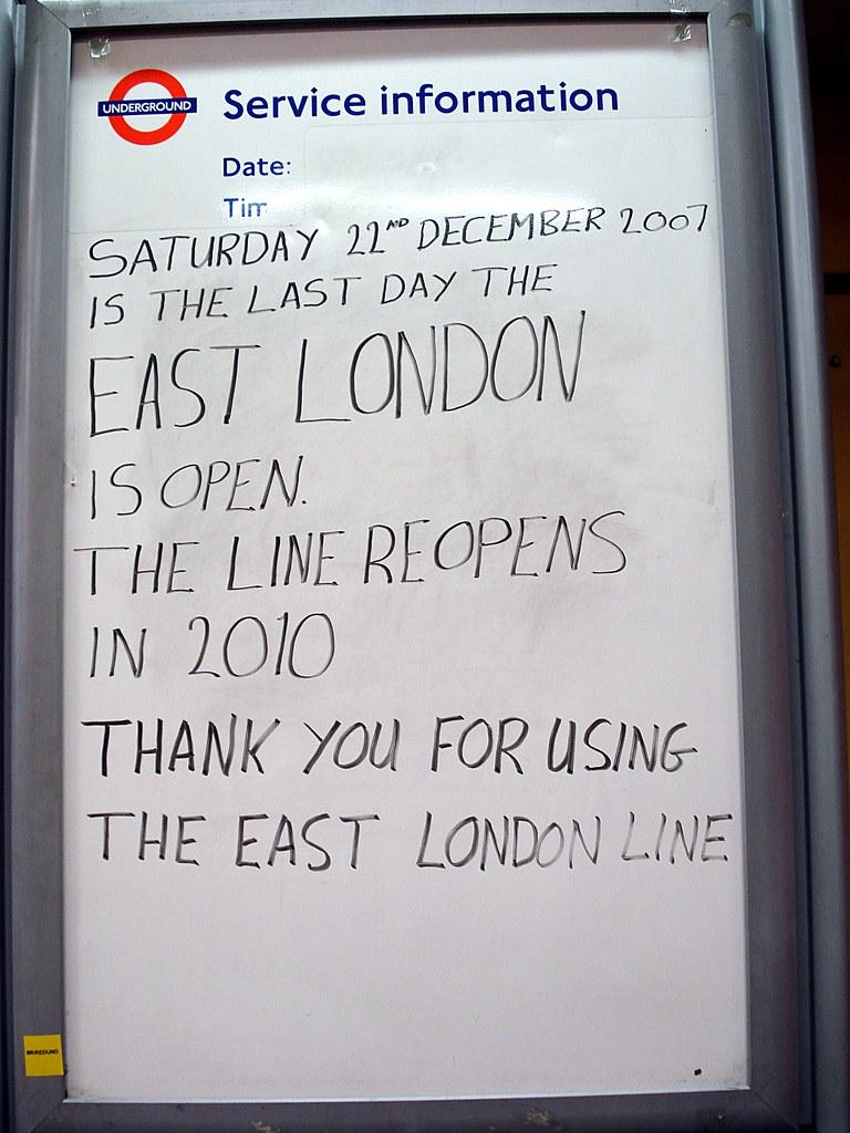 2167540884 ed3fe11aaf b - The East London Line: Ten years on...