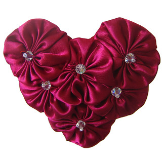 Wine Heart Closeup