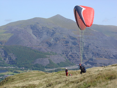 Tue, 11/09/2007 - 12:35 - Phil (Fly) Williams on Moel Eilio, Pic - Pete Bursnall