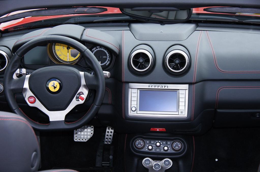Ferrari California Dashboard Marin Sonoma Concours D Elega Flickr