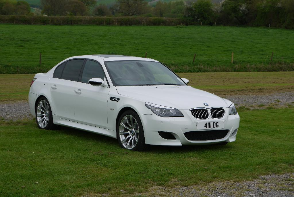 E60 M5 Alpine White Iii Bmw Car Club Gb Ireland Flickr