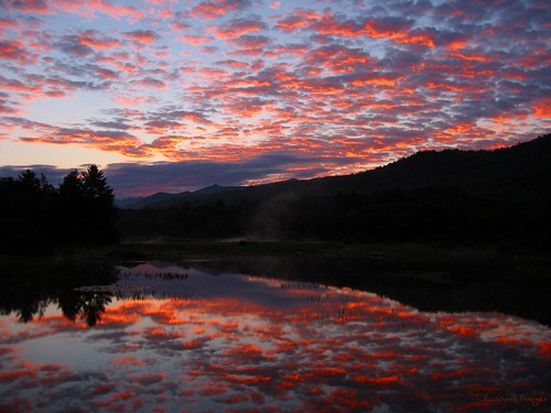 sunrise landscapes newengland newhampshire watervillevalley campton justclouds