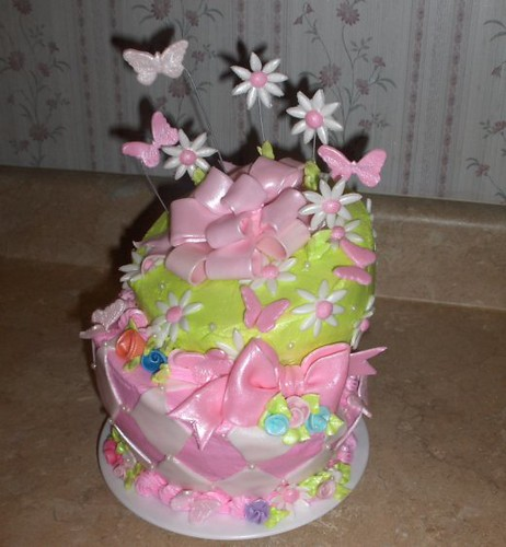 Surprising Butterflies And Daisy Cake My 31St Birthday Cake Flickr Funny Birthday Cards Online Barepcheapnameinfo