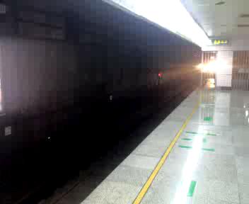 Shanghai Subway Arrives
