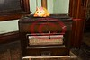 Pilsen house:  Gas space heater