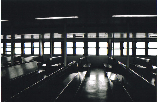 new york empty ferry