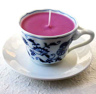 Black Cherry Teacup Candle | by ecram1