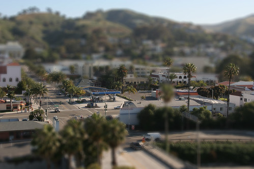 Ventura Crossroads - Tilt Shift Fake