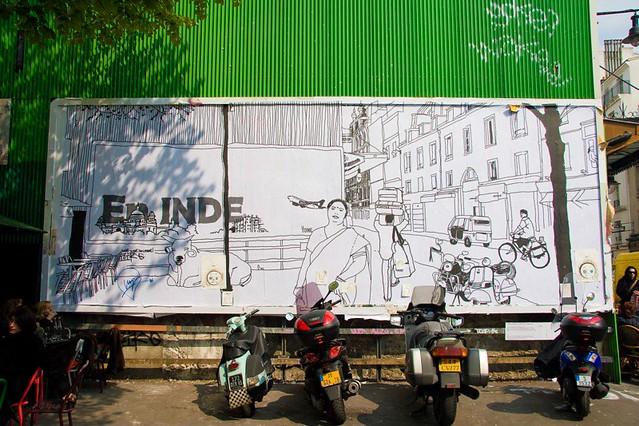 Le M.U.R. - Le Tone - Rue Oberkampf 11è