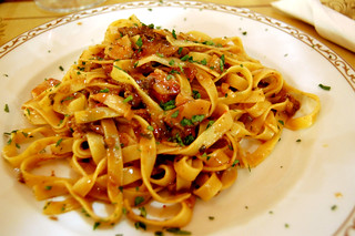 Linguine with porcini mushrooms | by McPig