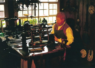 The Old Clockmaker   by Piedmont Fossil