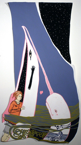"Alexis Amann ""Girl Loves Narwhal"""