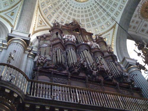 interior catedral puebla