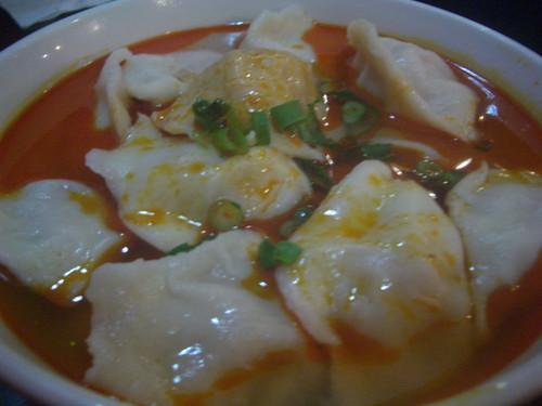 Chilli oil dumplings | by mutemonkey