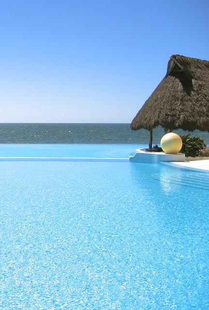 Grand Velas Pool and Swim-up Bar