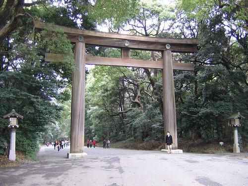 Myojin Torii of Meiji Jingu   by jpellgen (@1179_jp)