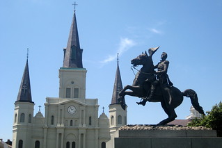 New Orleans - French Quarter: Jackson Square and St. Louis Cathedral | by wallyg