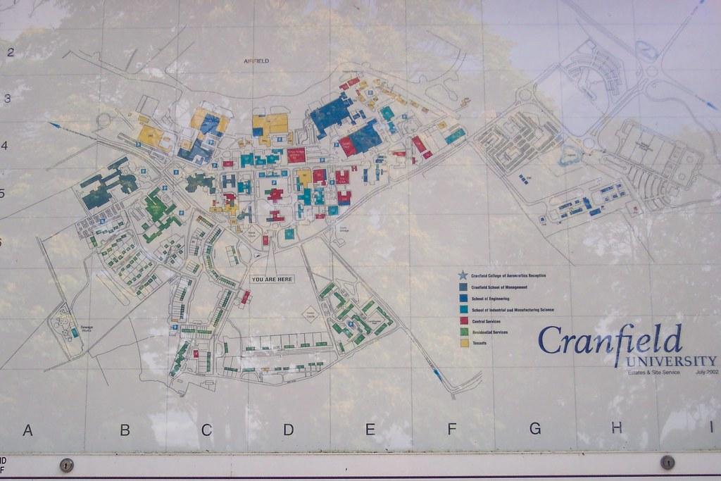 Cranfield University Map Cranfield University Map | Dulceneia Becker | Flickr