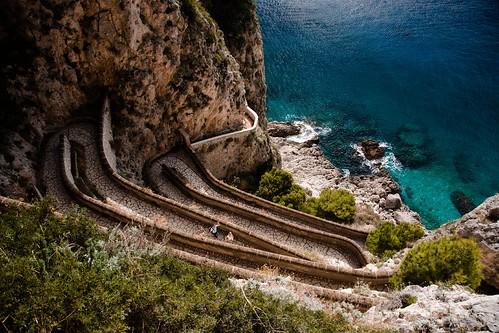 Via Krupp, Capri | by Anvi