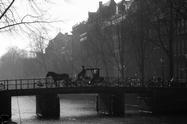 Time stops in Amsterdam