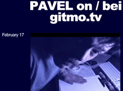Pavel is poking out of his blog | by http://gitmo.tv