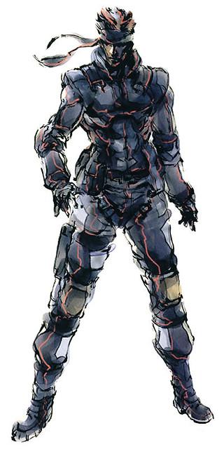 Mgs Solid Snake Metal Gear Solid Fan Art Flickr