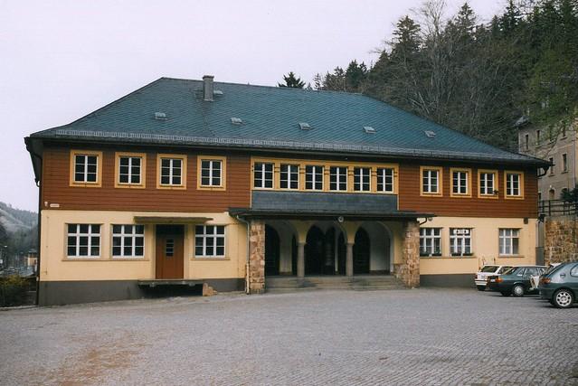Empfangsgebäude des Bahnhofs Kurort Kipsdorf