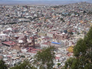 "Zacatecas from above - on the hill ""La Bufa"" 
