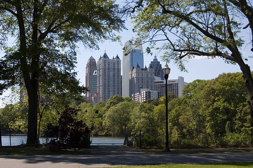 Midtown Atlanta from Piedmont Park | by MikeSchinkel