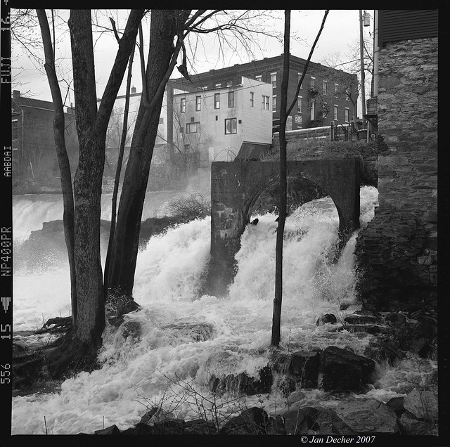 Middlebury Waterfall