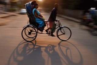 Dhaka: Rickshaw Shadows | by Mikey Leung
