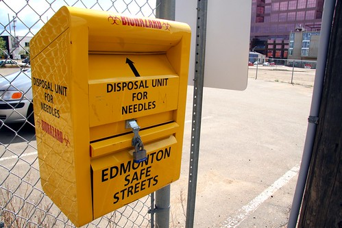 Disposal unit for needles | by sfllaw