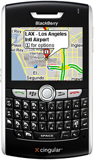 Blackberry 8800 with Google Maps GPS | by aloharakesh