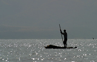 Fisherman on Lake Chamo | by Niall Crotty