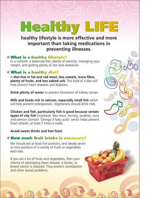 Healthy Life Leaflet A4 - 1 | anjana_niluka | Flickr