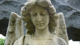 Cemetery angel | by elliemom