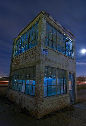 abandoned night globe ruins factory texas aircraft swift bluemound amazingtalent