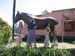 Clydsedale Statue and JEMM