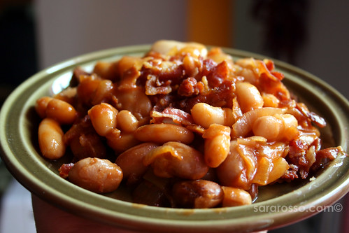 Barbecue Baked Beans with Bacon Ready to Eat | by MsAdventuresinItaly