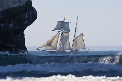 Privateer ship Lynx in Morro Bay, CA privateer-ship-lynx-morro-bay | by mikebaird