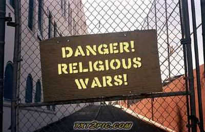 Danger! Religious Wars! | www.txt2pic.com | Dunk 🐝 | Flickr