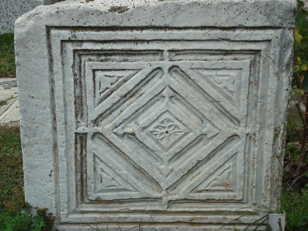 Byzantine Geometic Design in Marble