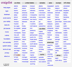 Craigslist: Where you at? | by tastybit