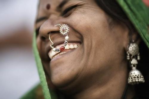 Laughing Woman- Rajasthan- India | by photosadhu
