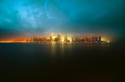 nyc newyorkcity newyork geotagged dawn newjersey jerseycity mudpig stevekelley