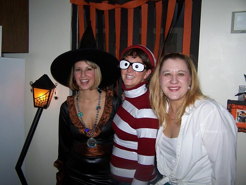 Witch, Waldo and 50's Chick