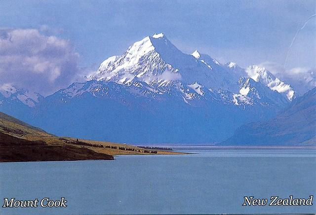 Monte Cook, Nueva Zelanda