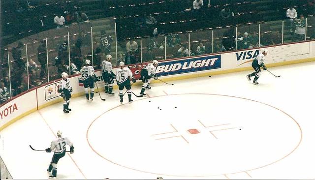 Mighty Ducks vs. Calgary Flames November 8, 2001