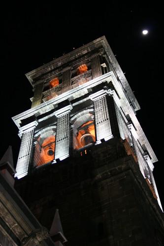 Angel y Catedral de Puebla